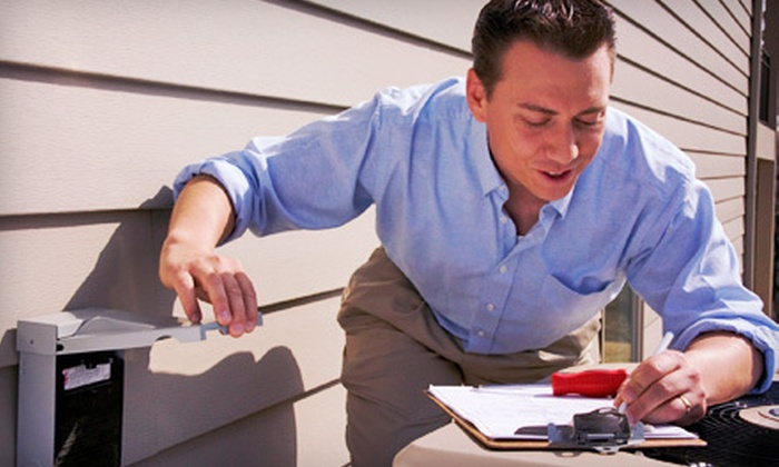 Bonfe's Plumbing, Heating and Air Service - Minneapolis / St Paul: Air-Conditioner Tune-Up with Optional Furnace Tune-Up from Bonfe's Plumbing, Heating and Air Service (Up to 78% Off)