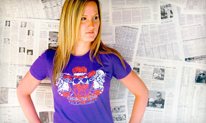My Buffalo Shirt: $22 for Two Vintage-Style T-shirts from My Buffalo Shirt ($43.98 Value)