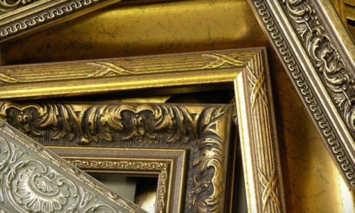 Artistic Picture Framing - North Berkeley: $50 Worth of Framing Services