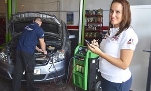 Cambio de aceite, filtro, revisión pre-ITV y autodiagnosis o con 2 o 4 filtros desde 24,95 € en Talleres Safety Car