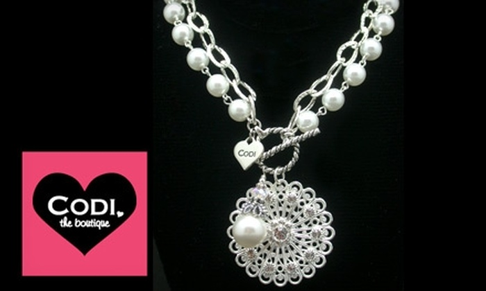 Codi the Boutique - Multiple Locations: $29 for $70 Worth of Jewelry at Codi the Boutique