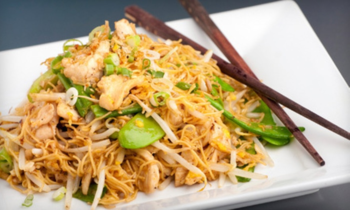 Anothai Cuisine - Multiple Locations: Three-Course Thai Dinner for Two or Four or $10 for $20 Toward Lunch at Anothai Cuisine. Three Locations Available.