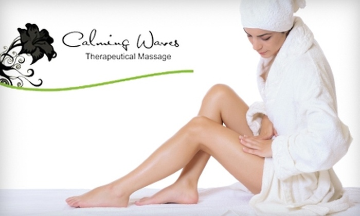 Calming Waves Massage - Central Topeka 2: $45 for a 90-minute Honey Coconut Wrap ($100 Value) or $30 for a 60-minute Swedish Massage ($60 Value) at Calming Waves Massage
