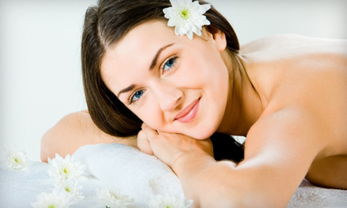 Refreshing Massage & Day Spa - Burning Tree: Massage-and-Aromatherapy or Hot-Stone-Massage-and-Sauna Package at Refreshing Massage & Day Spa (Up to 61% Off)
