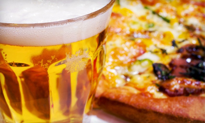 Jake's Bar & Grill - Five Points,Shandon: Pizza Meal for Two or Four with Appetizers and Beer, or $12 for $25 Worth of Fare at Jakes Bar & Grill