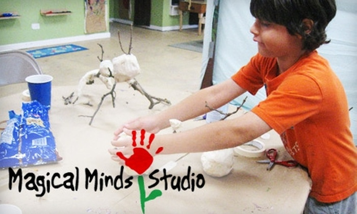 Magical Minds Studio - Oak Park: $60 for Five Weeks of Children's Art Classes at Magical Minds Studio (Up to $171 Value)