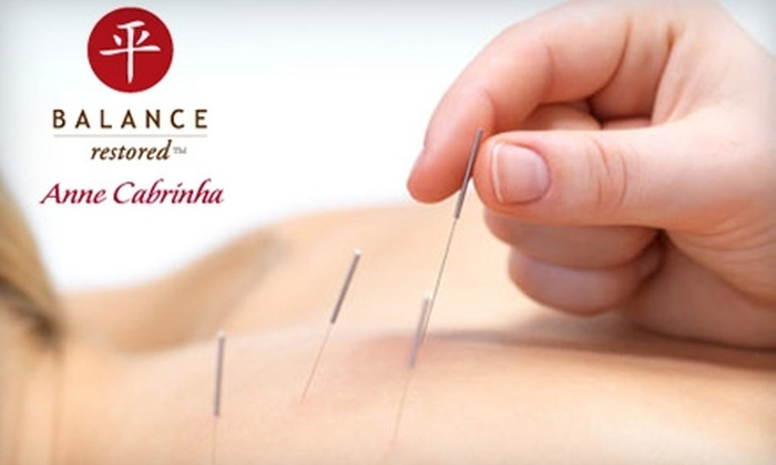 Balanced Restored Center for Integrative Medicine - Mill Valley: $59 for a One-Hour Stress-Relief Acupuncture Treatment with Relaxing Essential Oils and Reflexology Foot Massage at Balanced Restored in Mill Valley ($145 Value)