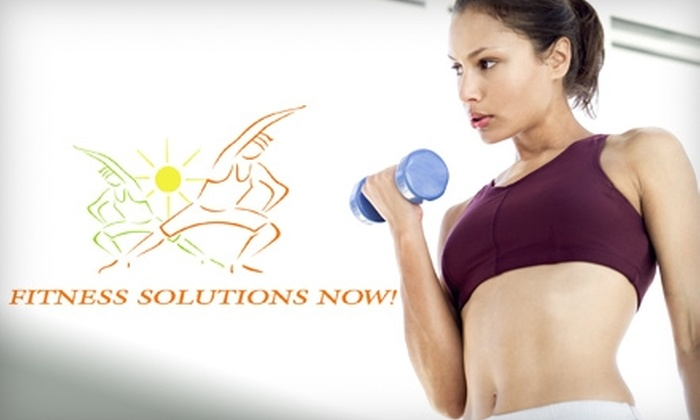 Fitness Solutions Now! - Rutland: Fitness Package and Nutritional Workshop at Fitness Solutions Now! Two Options Available.