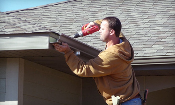 Sunshine Gutters - Civic Center: $99 for Gutter Cleaning or Repair Services from Sunshine Gutters (Up to $265 Value)