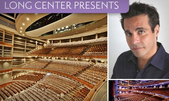 The Long Center - Bouldin: $24 Ticket to Mario Cantone Stand-Up Comedy and Music Show at The Long Center ($44 Value)