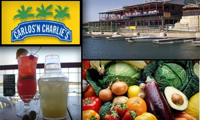 Carlos N Charlies Austin - Travis Southwest: $15 for $30 Worth of Mexican Sips and Savories at Carlos 'N Charlie's Austin