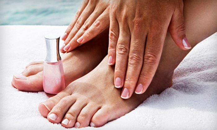 ViVi Salon & Spa - Kalihi - Palama: Deluxe Pedicure or Spa Mani-Pedi at ViVi Salon & Spa (Up to 62% Off)