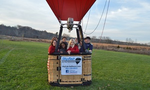 SkyCab Balloon Promotions: $199 for a One-Hour Hot Air Balloon Ride from SkyCab Balloon Promotions ($299Value)