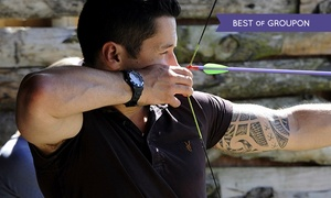 GTS Adventure: Archery, Air Rifle and Cross Bow Session For One, Two or Four from £13.90 at GTS Adventure (Up to 79% Off)