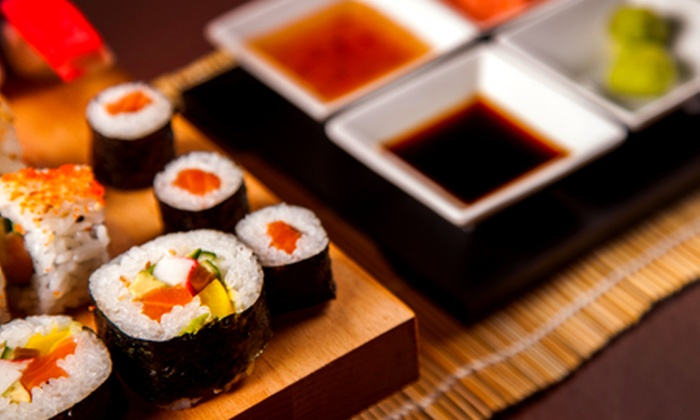 Sushi Cafe, UK - London: Sharing Summer Sushi Platter for £19 at Sushi Cafe (46% Off)