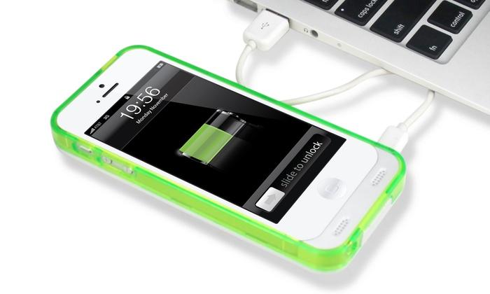 Prolix Power External Protective Battery Case for iPhone 5/5s: Prolix Power External Protective Battery Case for iPhone 5/5s. Multiple Colors Available. Free Returns.