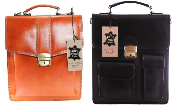Groupon Goods Global GmbH: Cartable en cuir, 3 modèles au choix, à 49,99€ (jusqu'à 70% de réduction)