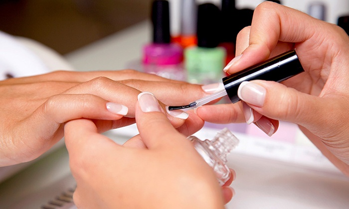 The Salon - The Salon: One or Two Shellac Manicures or One Mani-Pedi at The Salon (Up to 53% Off)