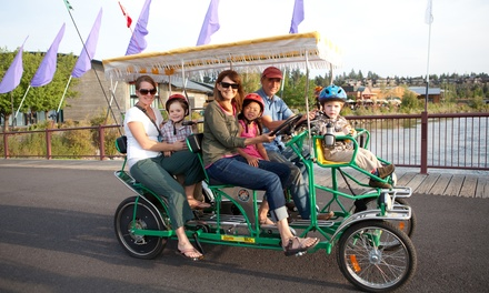 Bike, Kayak, and Surrey Rentals from Wheel Fun Rentals (Up to 54% Off). Two Options Available.