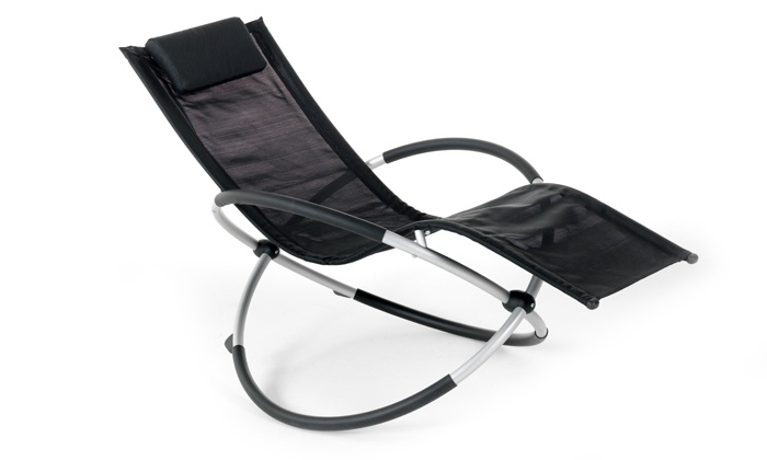 Groupon Goods: Aluminium Rocking Sun Lounger for R1 395 Including Delivery (22% Off)