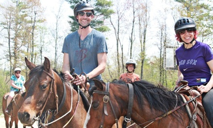 One- or Two-Hour Trail Ride on Horseback for One or Two at Cornerstone Ranch (Up to 51% Off)