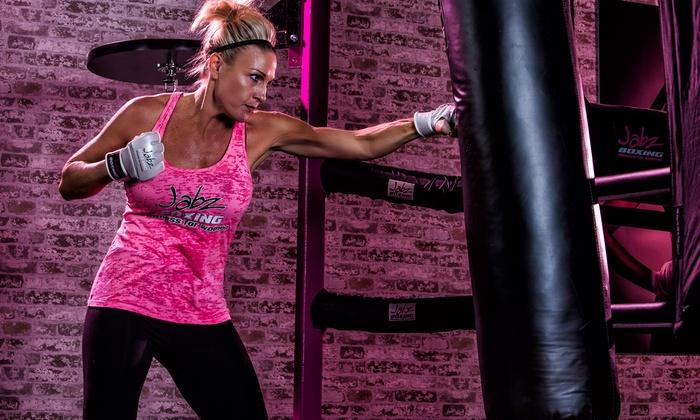 Jabz Boxing Fitness For Women - Via Linda - Central Scottsdale - Via Linda: 10 Jabz Classes or 1-Month of Unlimited Jabz Classes at Jabz Boxing Fitness For Women-Via Linda (Up to 83% Off)