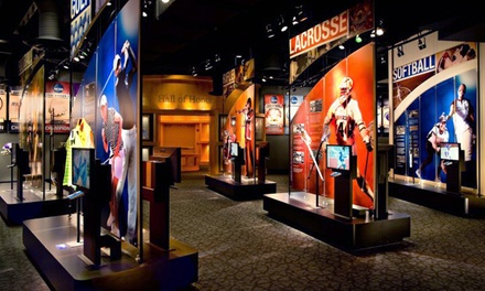 Visit for Two, Four, or Up to Eight to NCAA Hall of Champions (Up to 50% Off)