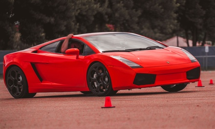 Ferrari/Lamborghini Italian Supercar Experience from The Motorsport Lab (Up to 86% Off). Two Options Available.
