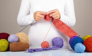 Only Ewe: Beginner Knitting Class or Magic Loop Class for One or Two at Only Ewe  (Up to 56% Off)