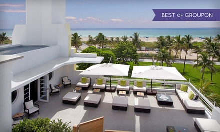 Stay at Hotel Breakwater South Beach in Miami Beach, with Dates into April