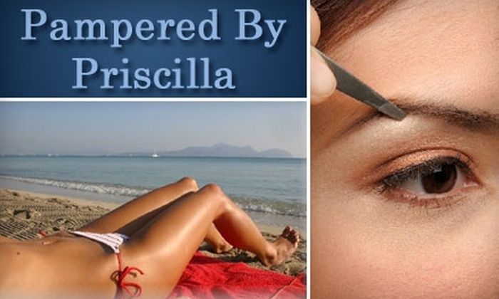 Pampered By Priscilla - Moran Prairie: $15 for $30 of Waxing Services at Pampered by Priscilla