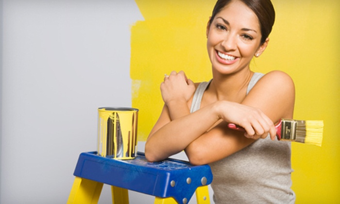 GJP Painting - Philadelphia: Two Coats of Paint for One or Three Rooms Up to 12'x12' from GJP Painting (Up to 78% Off)