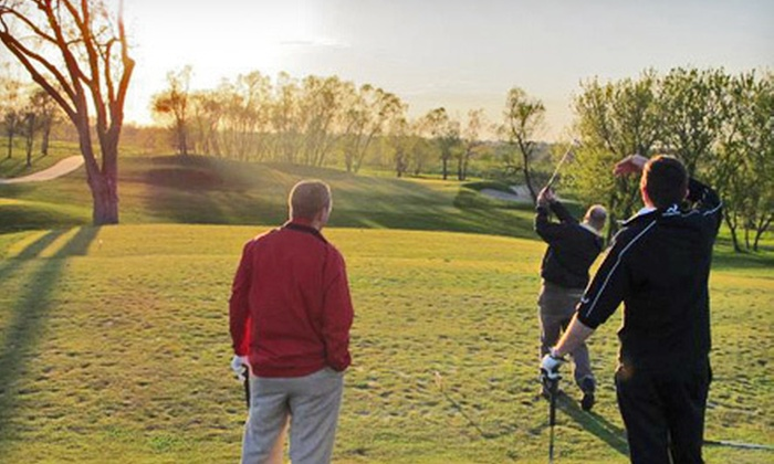The Legacy Golf Club - Echo Valley Estates: Play-and-Practice Package with Rounds and Lessons for One or Two at The Legacy Golf Club (Up to 81% off)