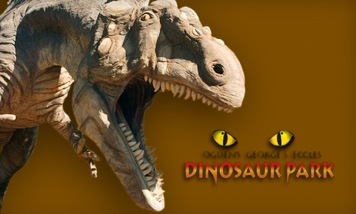 George S. Eccles Dinosaur Park - Ogden: $28 for a Family Membership ($60 Value) or $10 for a One-Day Family Pass ($24 Value) to George S. Eccles Dinosaur Park