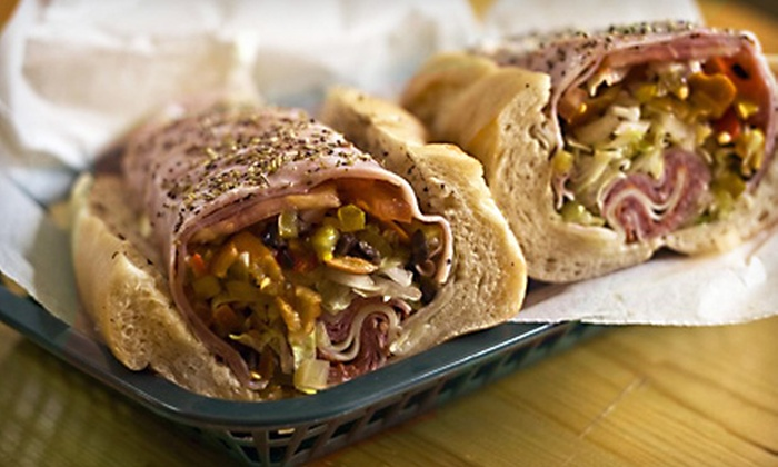Monte's Sub Shop - Mountain Home: $7 for $14 Worth of Subs and Salads at Monte's Sub Shop
