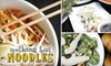Nothing but Noodles - Multiple Locations: $5 for $10 Worth of Noodles & More at Nothing but Noodles