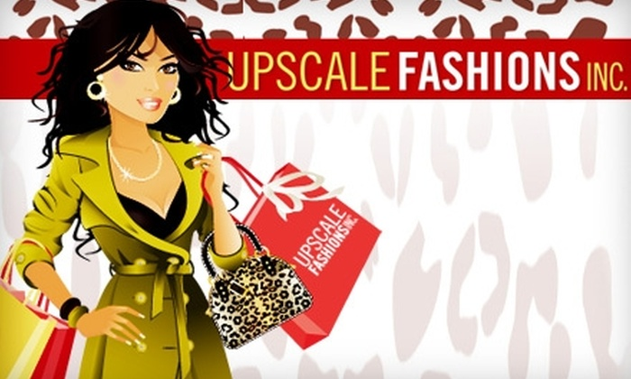 Upscale Fashions Inc. - Stockbridge: $20 for $40 Worth of Women's Apparel and Jewelry from Upscale Fashions Inc. in Stockbridge