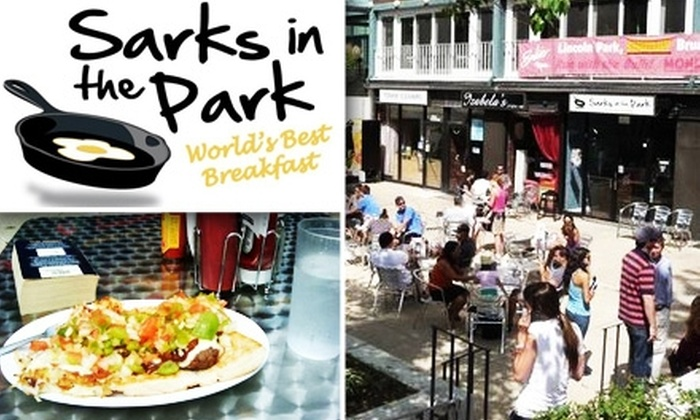 Sarks in the Park - Lincoln Park: $10 for $20 Worth of Diner Breakfast or Lunch at Sarks in the Park