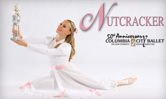 "Columbia City Ballet - Multiple Locations: $17 for Orchestra Seats to the Columbia City Ballet's Production of ""The Nutcracker"" ($35 Value)"