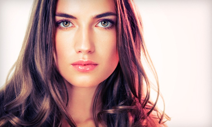 Barbarella Hair Salon - Riley Park: $35 for a Salon Package with Cut and Davines Nounou Pak Deep-Conditioning Treatment at Barbarella Hair Salon ($95 Value)