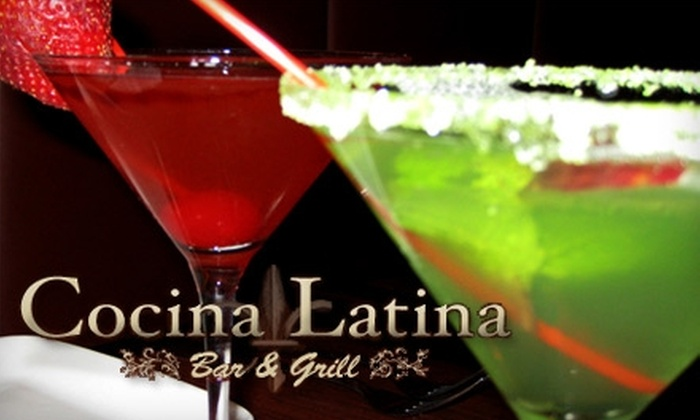 Cocina Latina Bar and Grill - Kew Gardens: $15 for $30 Worth of Latin Cuisine at Cocina Latina Bar and Grill