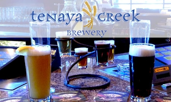 Tenaya Creek Brewery - Summerlin: $10 for One Six-Sample Beer Flight, Two 16-Ounce Beers, and Two Souvenir Beer Glasses at Tenaya Creek Brewery