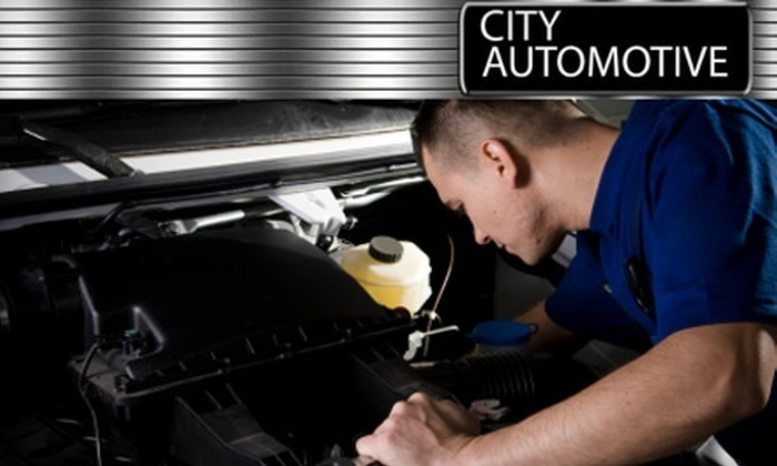 City Automotive - Fairview Homes: $12 for an Oil Change at City Automotive in Greensboro ($25 Value)