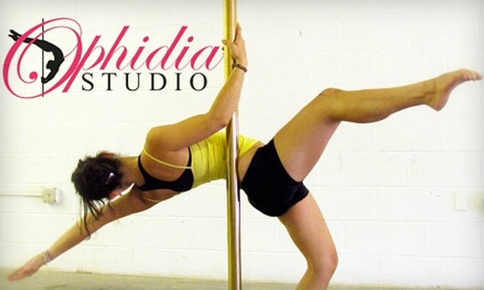 Ophidia Studio - Boise City: $35 for Five Pole-Dancing Lessons ($70 Value) or $20 for Five Chair-Dancing Lessons ($40 Value) at Ophidia Studio