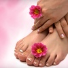 Up to 55% Off Mani-Pedi or Hair Services