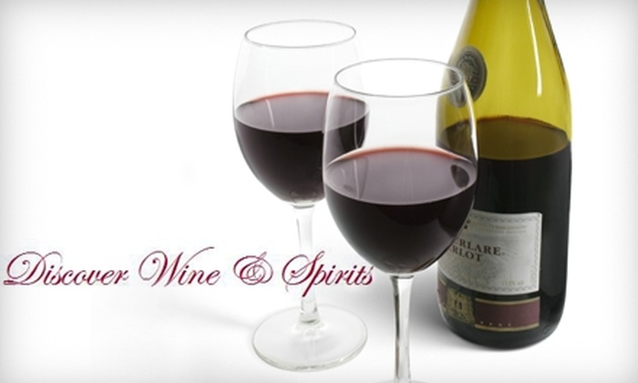 Discover Wine & Spirits - Presidio Heights: $47 for a Wine Enthusiast Series Wine-Tasting Class at Discover Wine & Spirits ($95 Value)