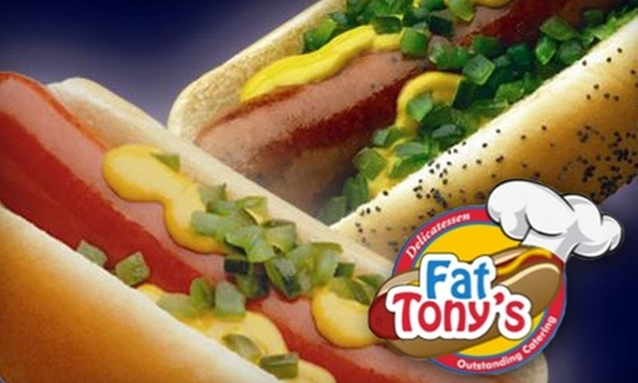 Fat Tony's Delicatessen - Lubbock: $5 for $10 Worth of Sandwiches, Burgers, Fries, and More at Fat Tony's Delicatessen