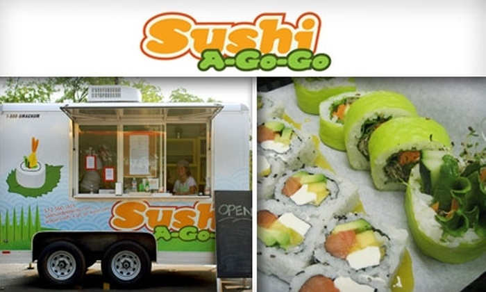 Sushi-A-Go-Go - Rosedale: $5 for $10 Worth of Fresh Sushi at Sushi-A-Go-Go