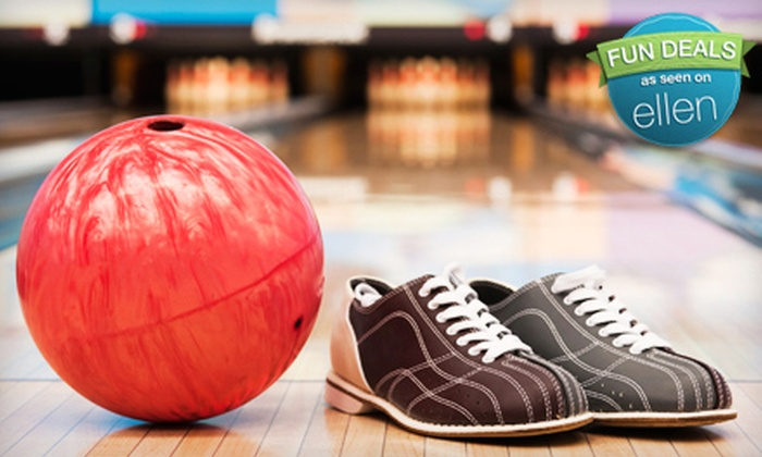 J.D. Legends Restaurant & Strike Zone Lanes - Franklin: Weekday or Weekend Bowling Outing for Two or Four at J.D. Legends Restaurant & Strike Zone Lanes (Up to 70% Off)