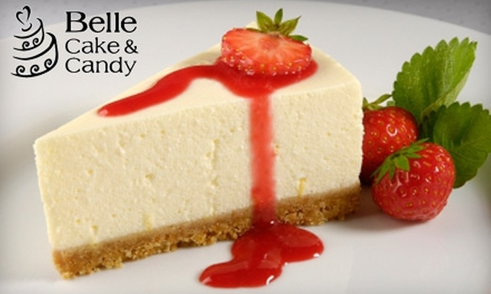 Belle Cake & Candy - Glenwood: $25 For Your Choice of Cheesecake From Belle Cake & Candy (a $50 Value)